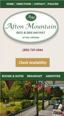 Afton Mountain B&B Mobile
