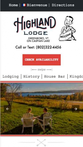 Highland Lodge AMP Mobile