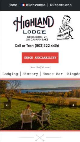 Highland Lodge AMP Mobile